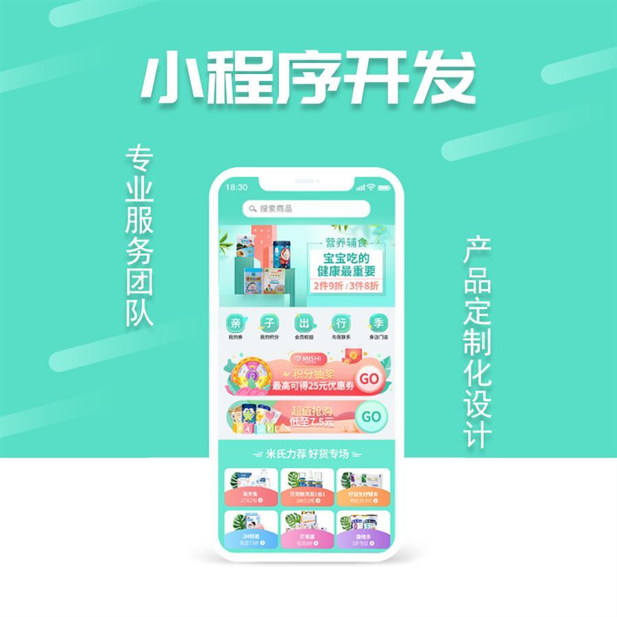 上海支付宝小程序开发